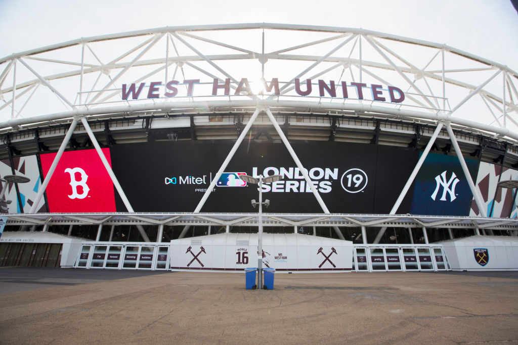 Pictures Show West Ham S London Stadium Transformed Into Baseball Mode For New York Yankees Vs Boston Red Sox Hammers News