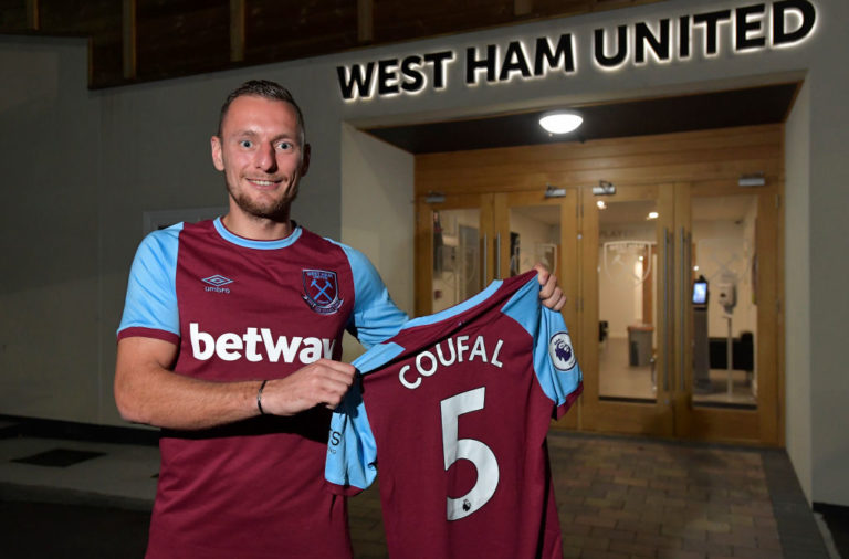 West Ham United Unveil New Signing Vladimir Coufal