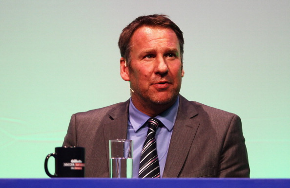 Paul Merson responds when asked who'll finish higher in the table West Ham or Tottenham