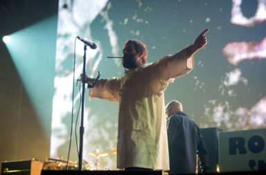 Liam Gallagher Performs At Le  Zenith