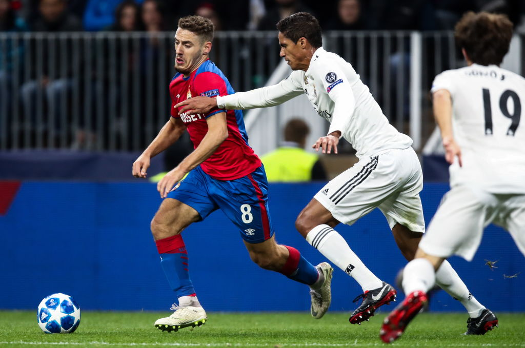 2018/19 UEFA Champions League Group Stage: CSKA Moscow vs Real Madrid
